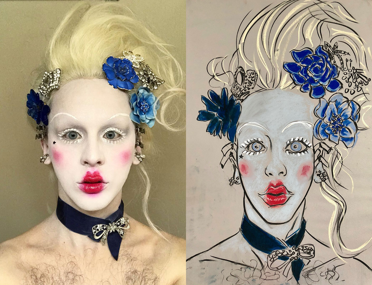 Meet the Ex-Adman Who's Turning Influencers Into Art