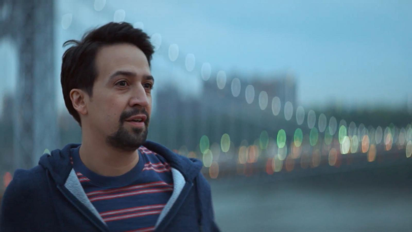 lin manuel miranda tours the heights in an inspiring ad for american